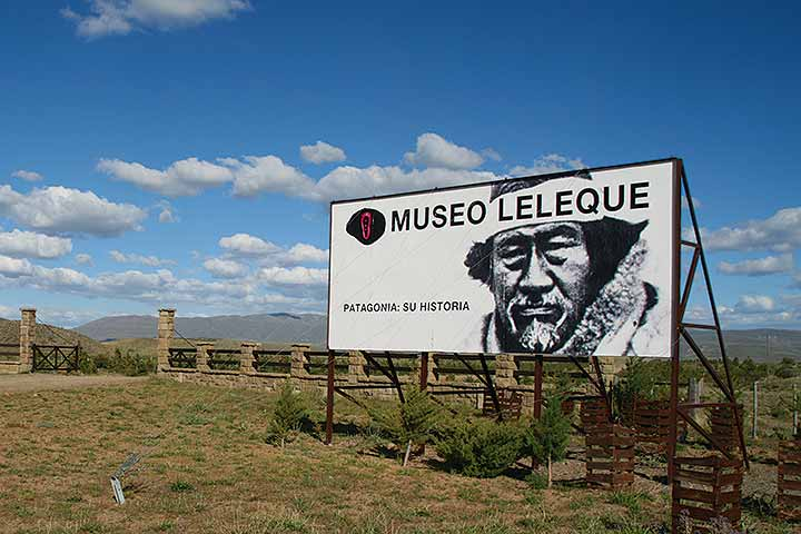 Museo Leleque en Chubut Patagonia Argentina